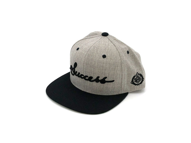 Accessories - Logo Snapbacks (Heather/Black) - Success Clothing