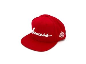 Accessories - Logo Snapbacks (Red) - Success Clothing