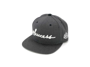 Accessories - Logo Snapbacks (Charcoal)