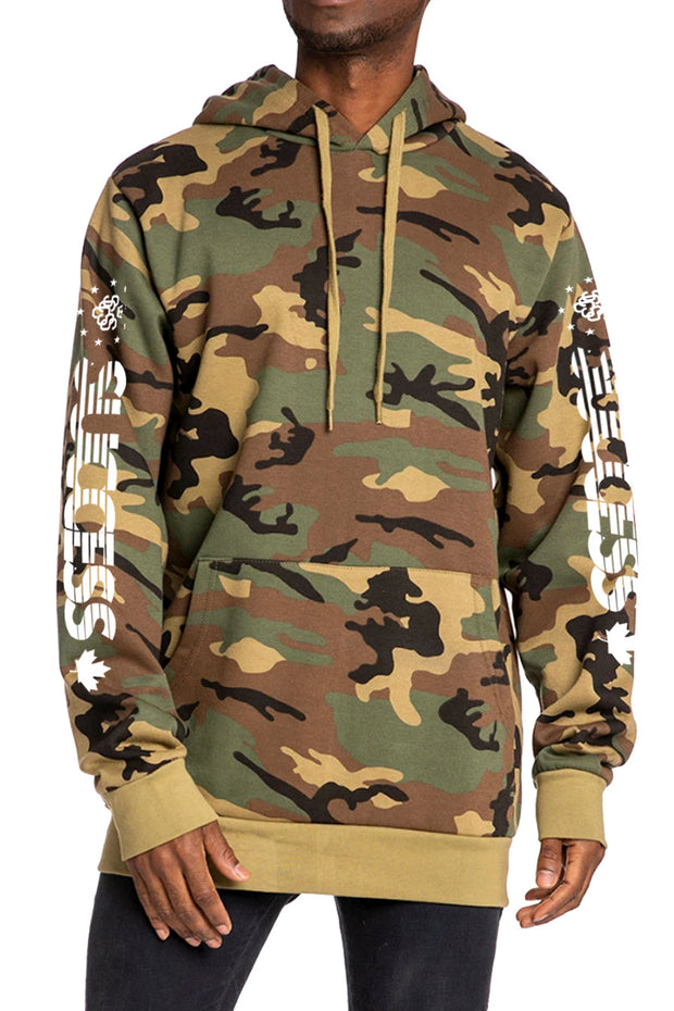 Speed - Hoodie Green Camo (Unisex) - Success Clothing