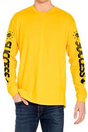 Speed - Longsleeve Tee Gold (Unisex) - Success Clothing