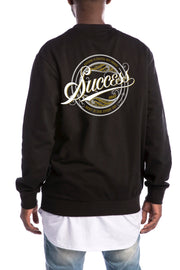 Rent - Crewneck Black (Unisex) - Success Clothing