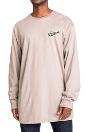Rent - Longsleeve Tee Khaki (Unisex) - Success Clothing