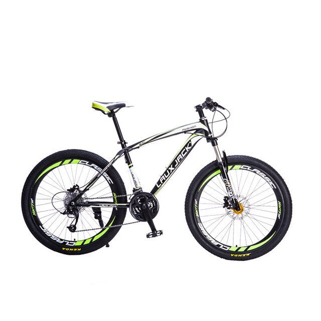 Lauxjack Mountain Bike Steel Frame 24 Speed Shimano