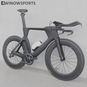 Winowsports 700C Carbon Fiber Frame Bicycle