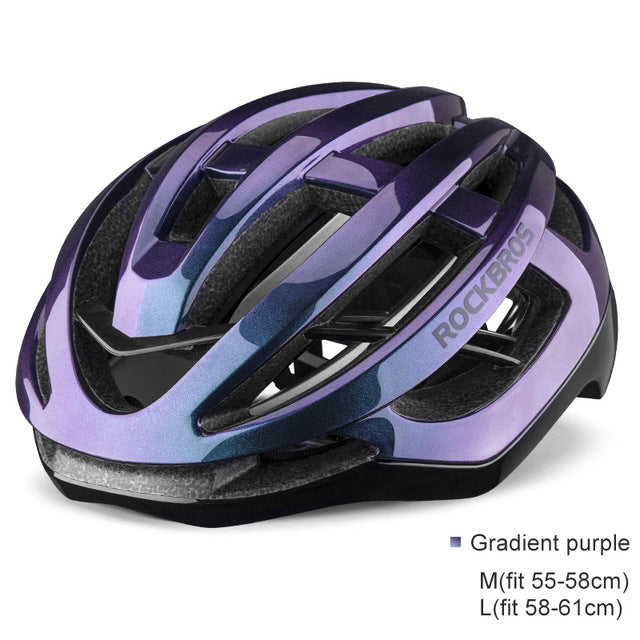 ROCKBROS Ultralight Bicycle Helmet Men Cycling Integrally-molded Women MTB Road Breathable Ventilation Sport Safety Bike Helmet