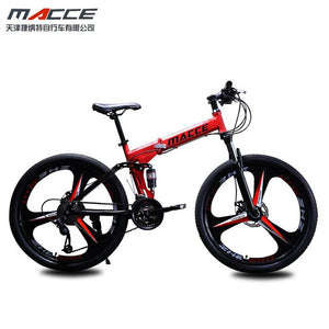 Double Shock absorber Mountain Folding Bicycle