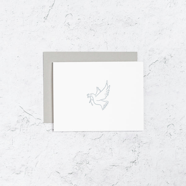 Peace Dove Icon Notecards