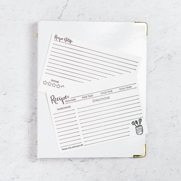 Recipe Binder Kit