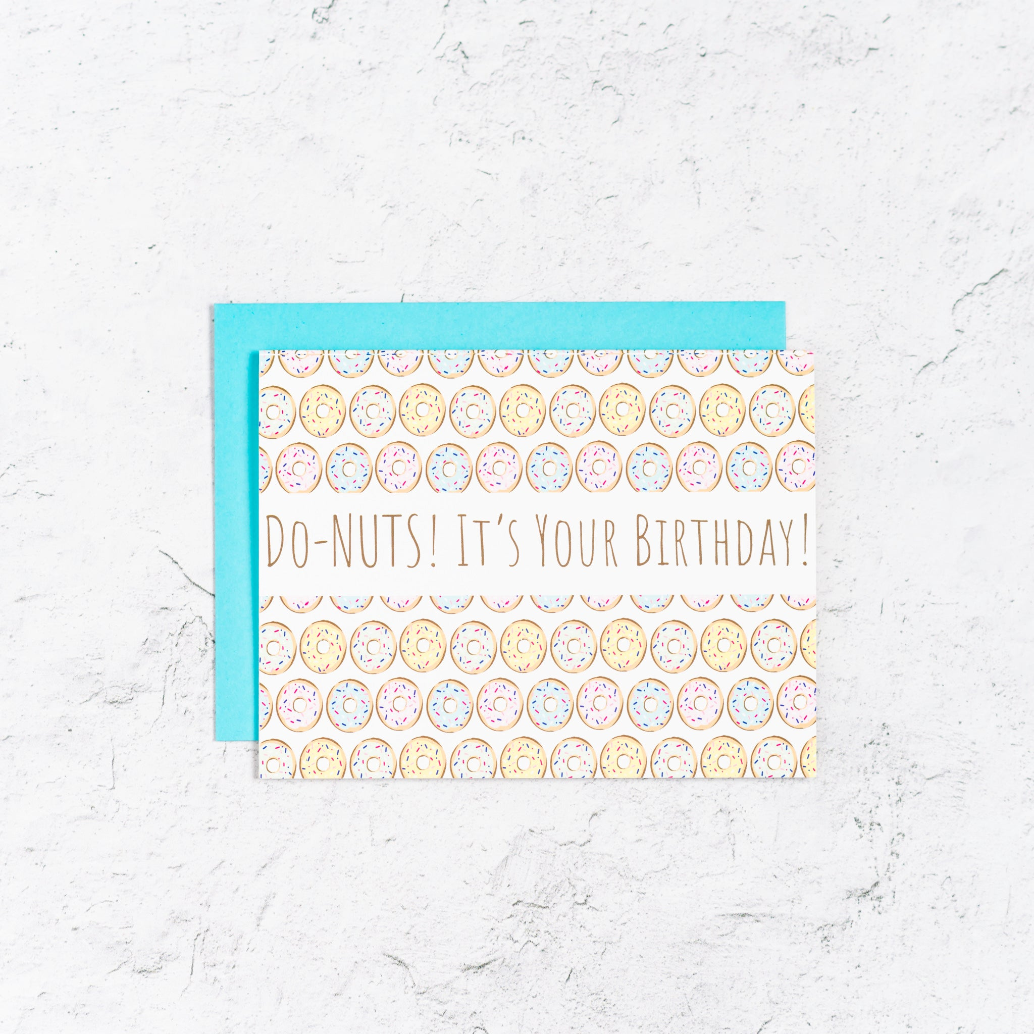Do-Nuts it's Your Birthday Card