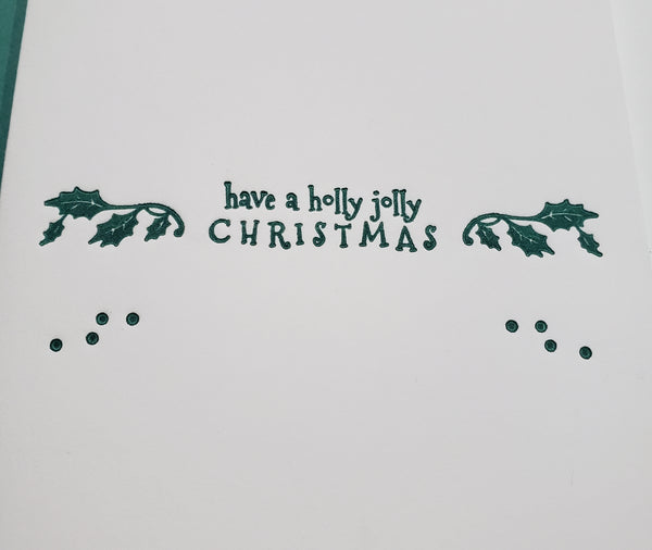 Holly Jolly Christmas Cards