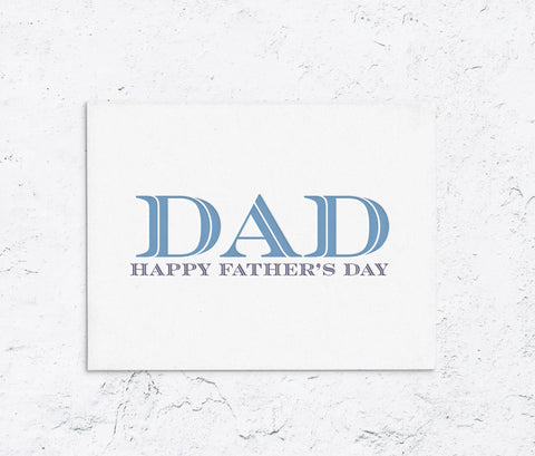 Classic Dad Father's Day - With Love A Paperie  Edit alt text