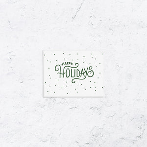 Happy Holiday Dots Boxed Holiday Cards