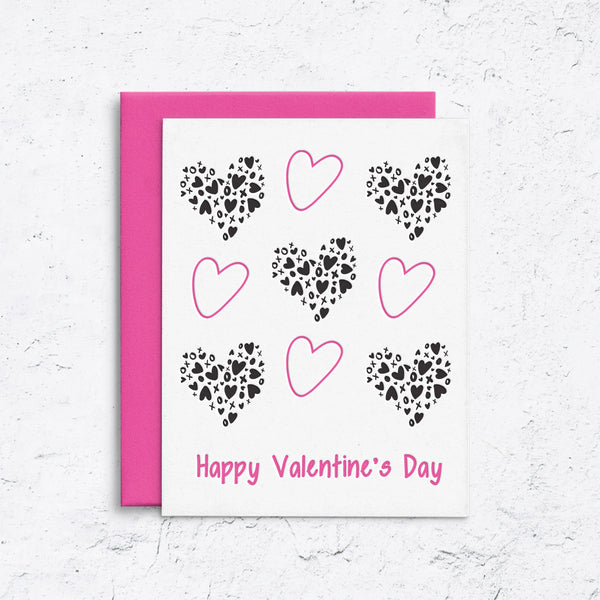 All the Hearts and Love Valentine's Card