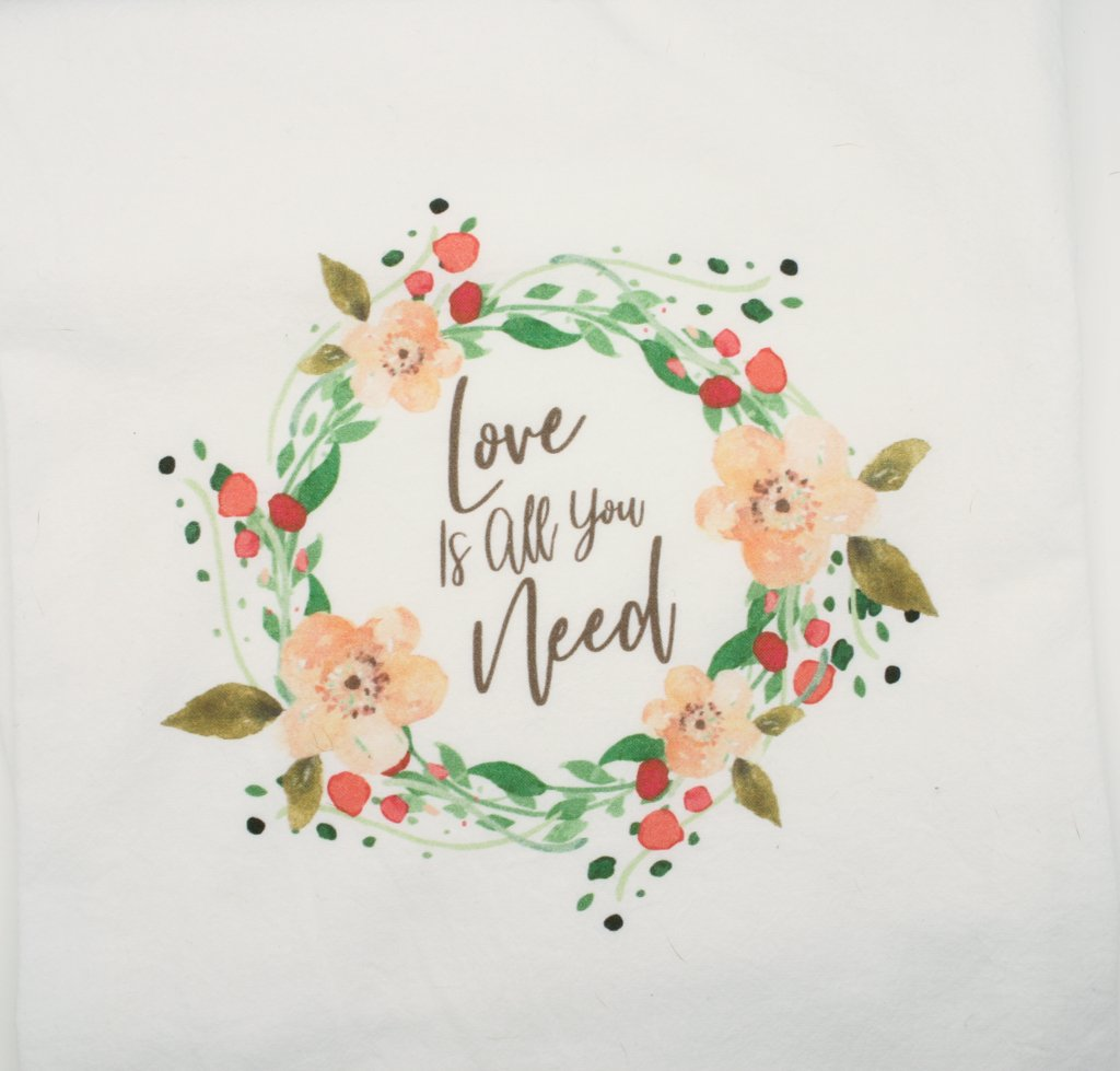 Love Is All You Need Tea Towel