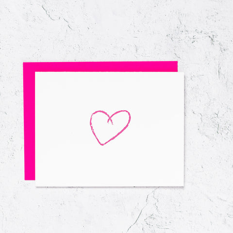 Heart Icon Notecards