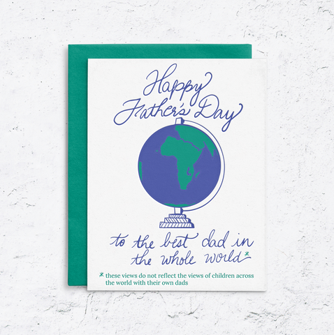 Disclaimer Father's Day Card