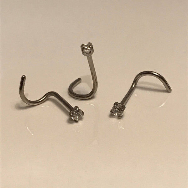 Crystal Nose Screw