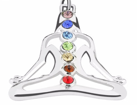 REIKI CHARGED - FREE SHIPPING WORLDWIDE! Chakra Healing - Pendant