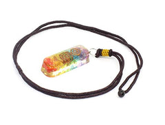 Enegry Generator Orgone Chakra Pipe Necklace for Healing Chakra Love Booster EMF Negative Entities Protection Overcome Stress