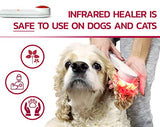GoodRadiance® Infrared and Red Light Therapy Pain Relief Device including Angioedema & Hives Treatment - Excellent For The Whole Family, Including Pets