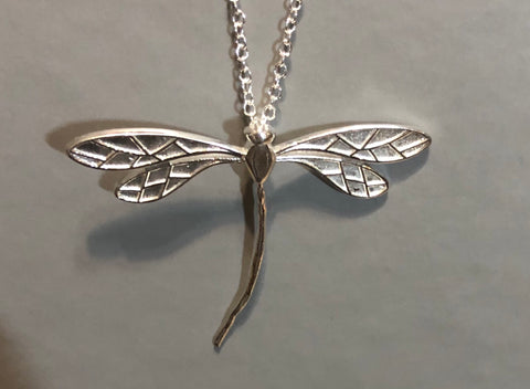 REIKI CHARGED! Beautiful Dragon Fly Necklace for Positive Transformation