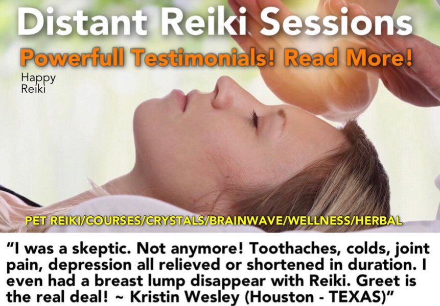 HAPPY REIKI HEALING