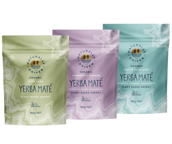 Power Pack - All Three Yerba Mate Flavours - Free Shipping