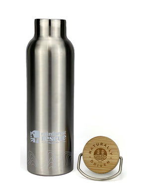 Naturally Driven 650ml stainless steel Thermo Drink Bottle