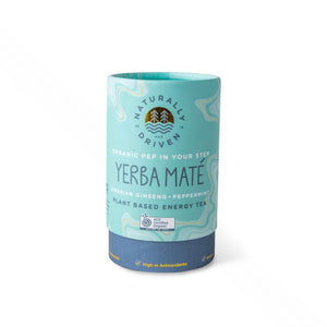 Pep in your step Organic Yerba Maté blend - 60g Cylinder