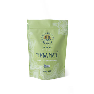 Organic Yerba Maté Pure Loose Leaf Tea - 150 gram pack