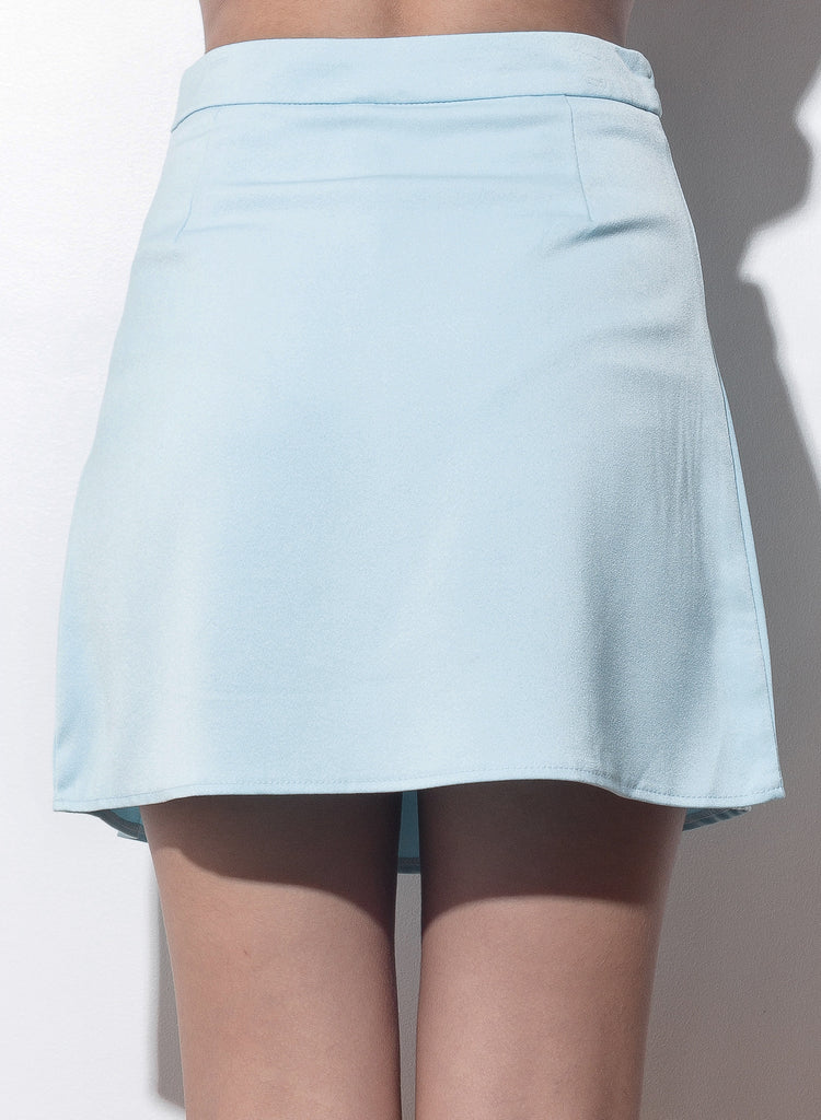 Show And Tell Pleated Skirt - Blue - COPPER | Street Style Fashion Brand  - 5