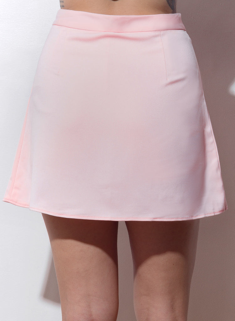 Show And Tell Pleated Skirt - Blush - COPPER | Street Style Fashion Brand  - 5