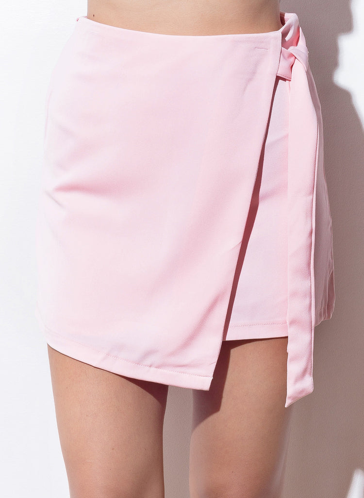 Clueless Mini Skirt - Blush - COPPER | Street Style Fashion Brand  - 2