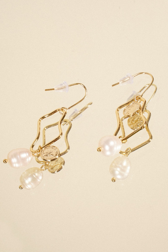 Finest Hour Drop Earrings