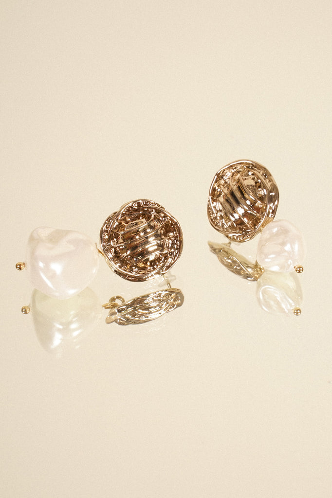 Gold Standard Drop Earrings