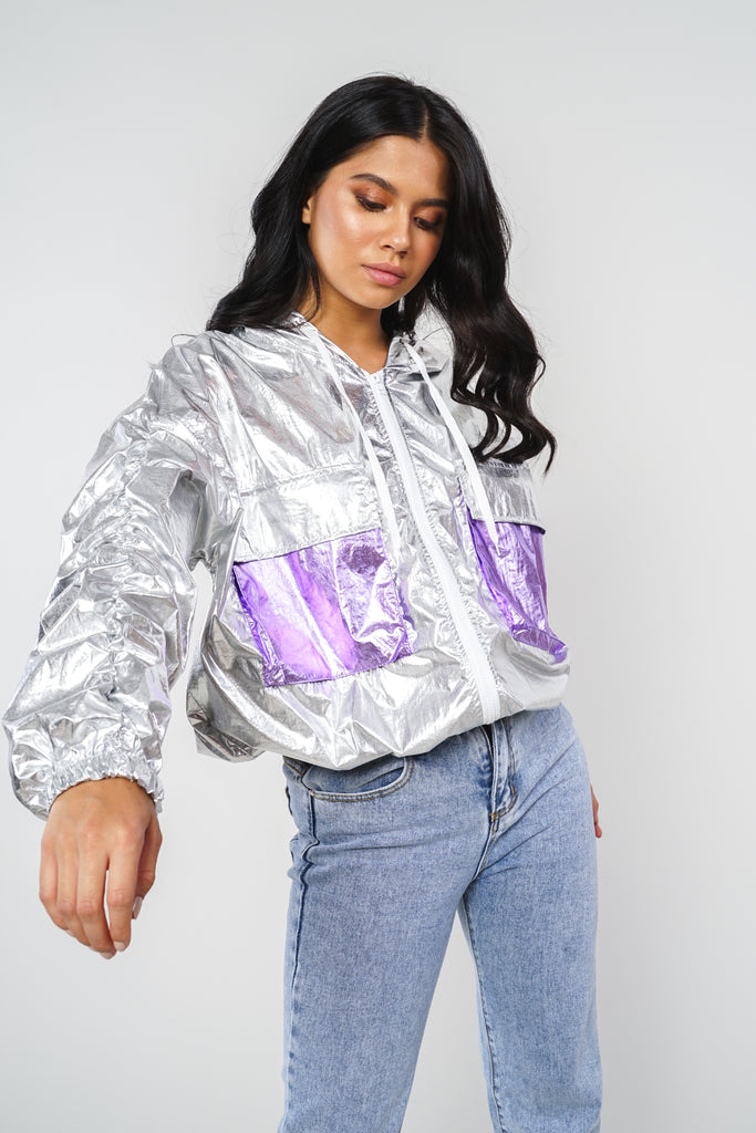 Settle The Score Windbreaker - Foil