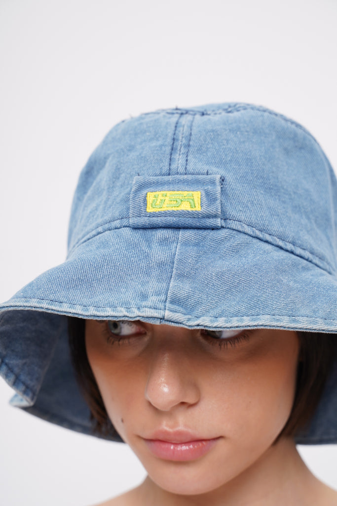 Wayfarer Denim Bucket Hat