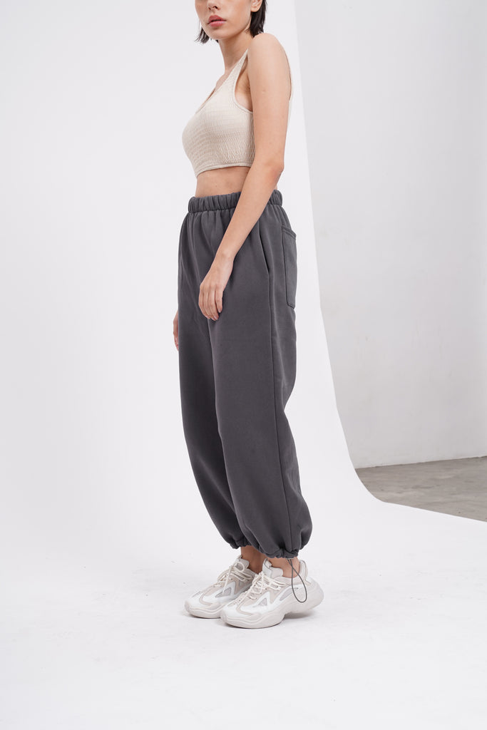 [PREORDER] Break No Sweat Baggy Sweatpants - Slate