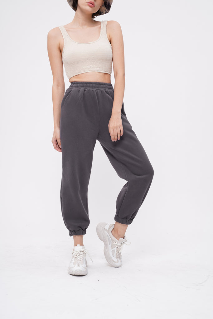 [PREORDER] Don't Sweat It Essential Jogger Pants - Slate Gray