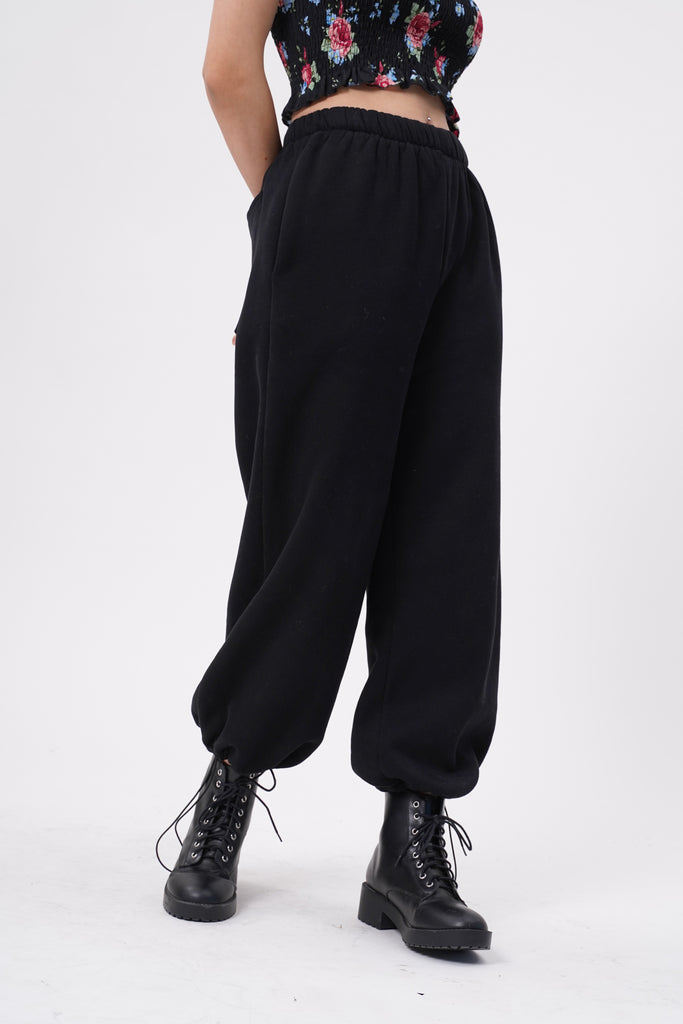 [PREORDER - BATCH 3] Break No Sweat Baggy Sweatpants - Black
