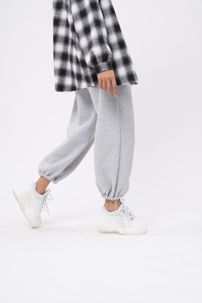 Break No Sweat Baggy Sweatpants - Stone