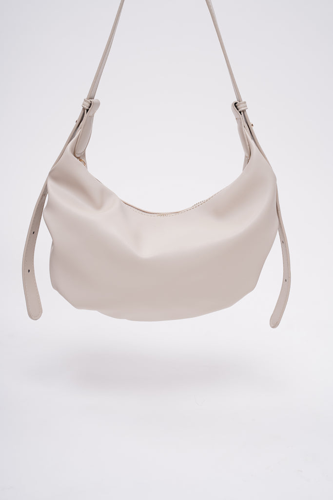 Caveat Faux Leather Handbag - Off White