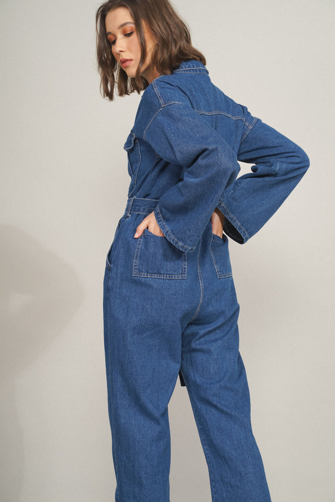 Do Your Thing Denim Boiler Suit