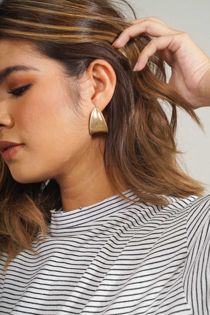 Midas Touch Gold Earrings