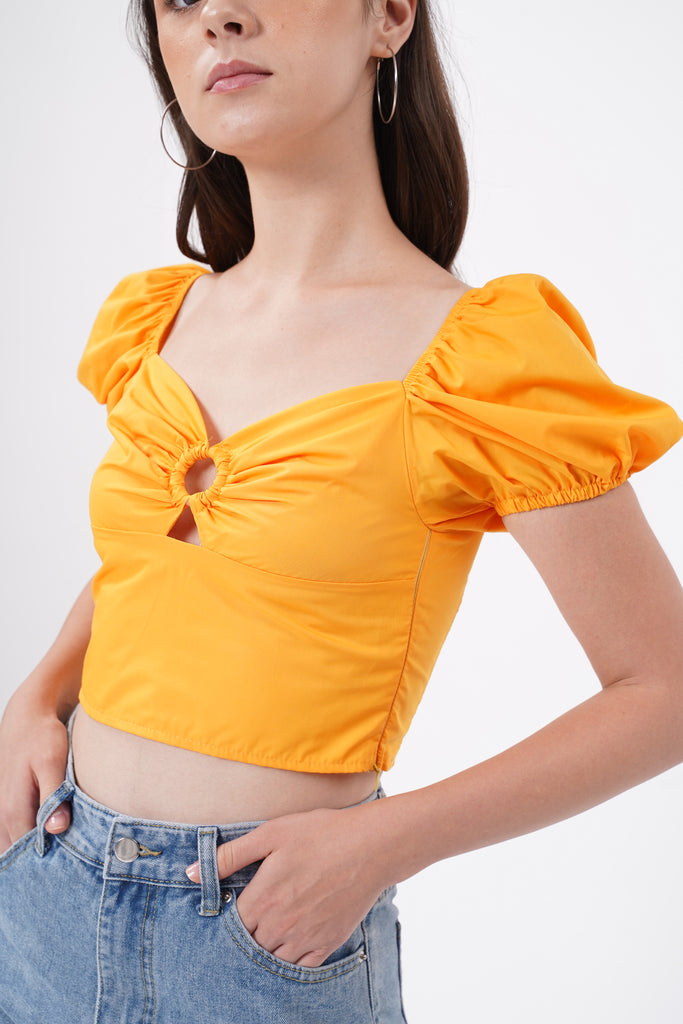 Made To Love Crop Top - Marmalade