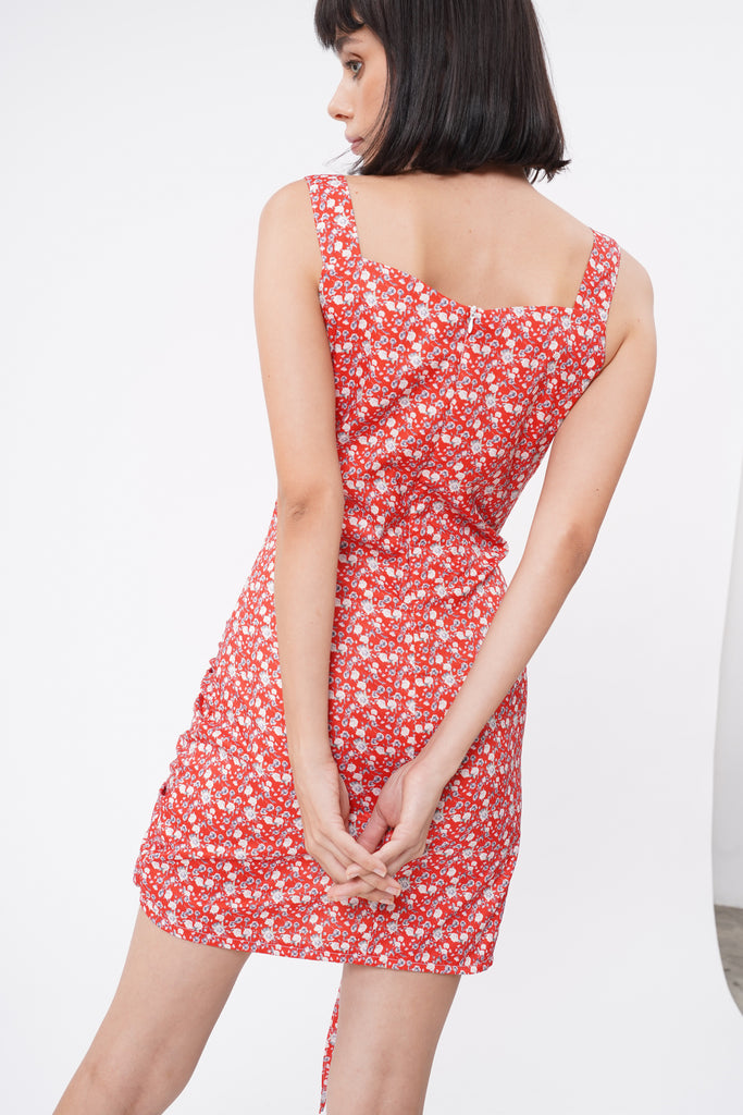 She's Got It Ruched Dress - Sienna