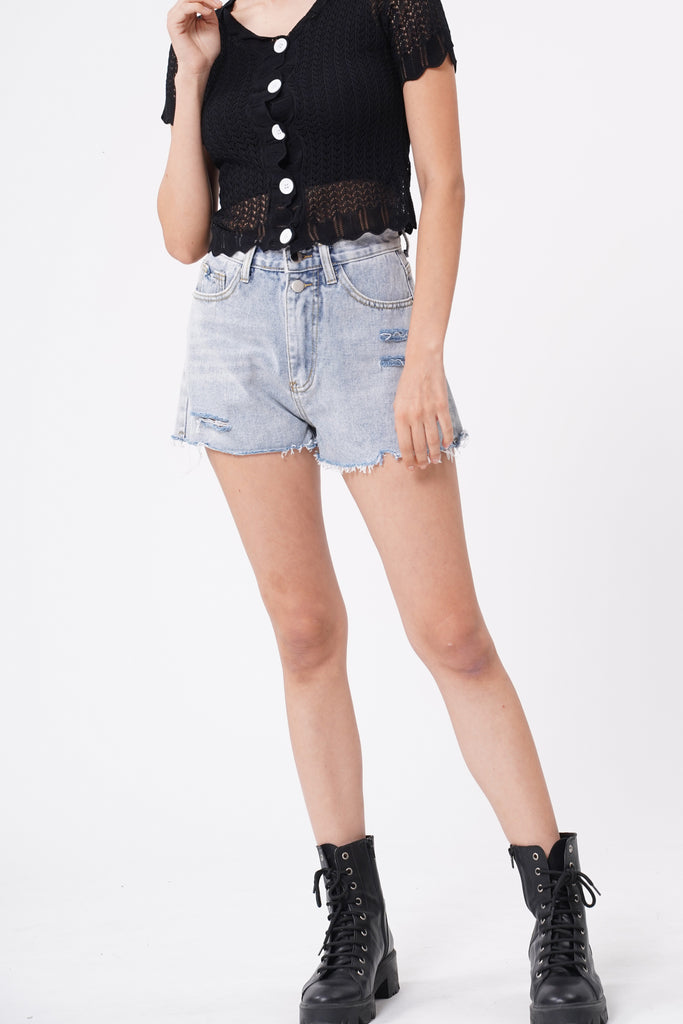 Break The Limit Denim Cutoffs