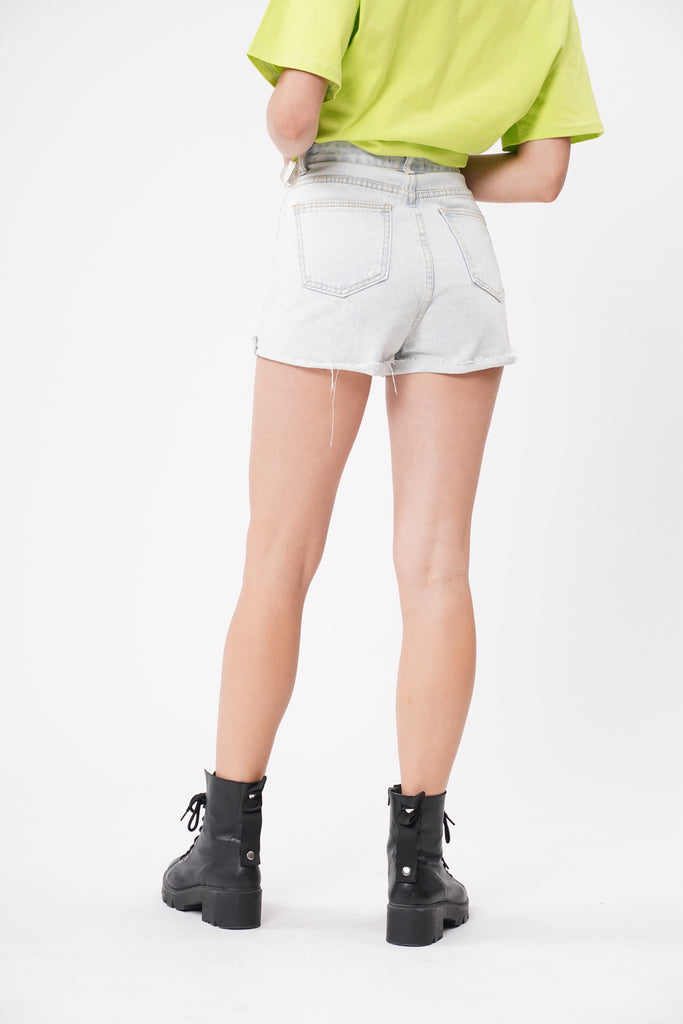 Tell A Lie Denim Shorts