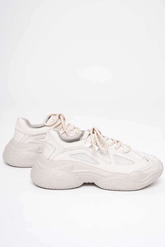 Traction Chunky Trainers - Stone